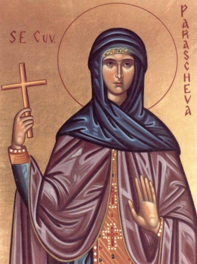 Sf. Cuvioasa Parascheva