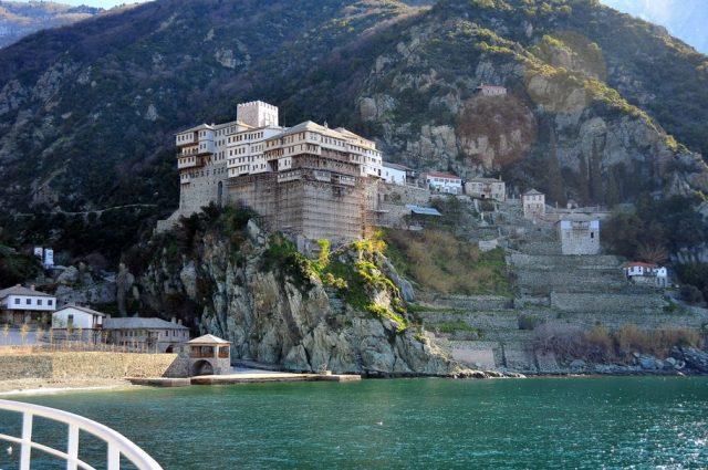 Manastirea Dionisiu, Sfantul Munte Athos