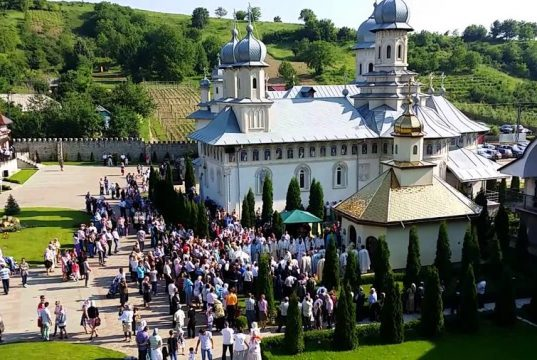 Manastirea Cucova, judetul Bacau