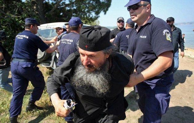 """""""Dragostea"""" arătată de patriarhul eretic Bartolomeu monahilor esfigmeniti"""