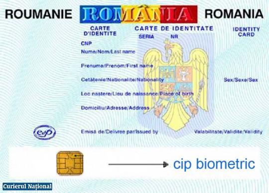 Carte de identitate cu CIP