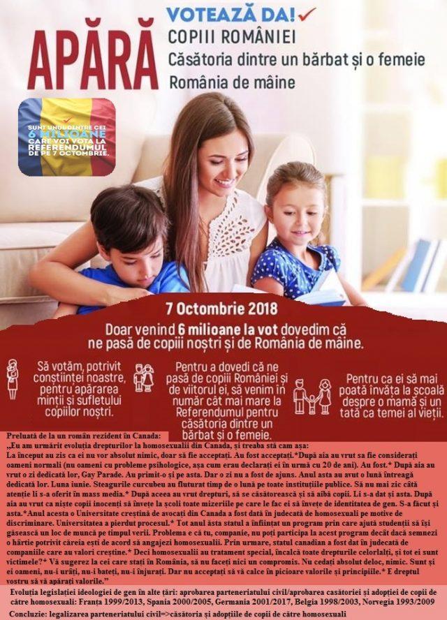 Referendum pentru familia traditionala