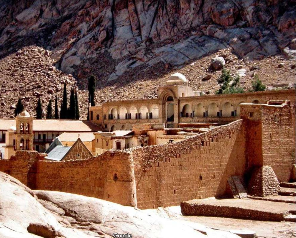 Manastirea Sf. Ecaterina din Muntele Sinai