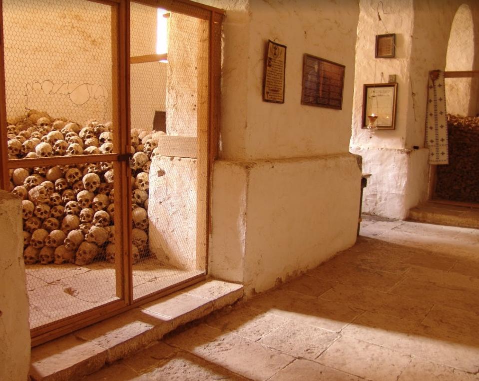 Osuarul manastirii Sf. Ecaterina