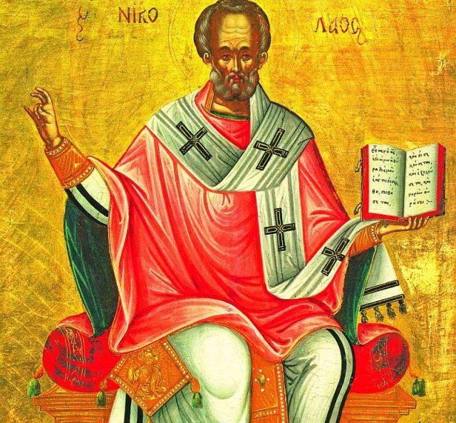 Sf. Ierarh Nicolae, Arhiepiscopul Mirelor Lichiei