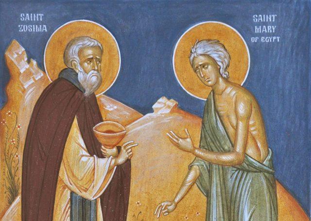 Sf. Cuv. Maria Egipteanca