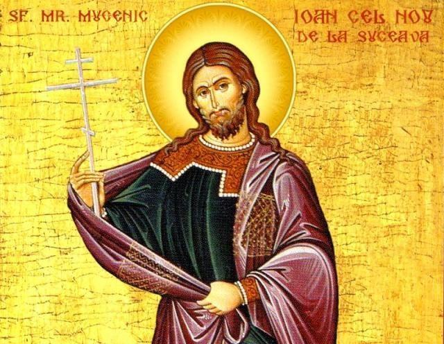 Sf. Mucenic Ioan cel Nou de la Suceava