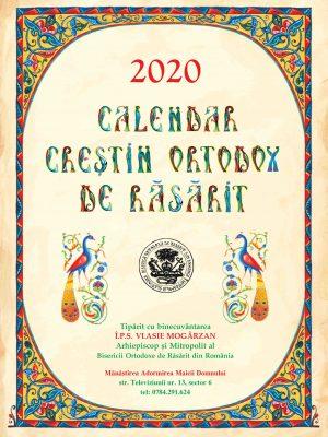 Calendar caiet 2020
