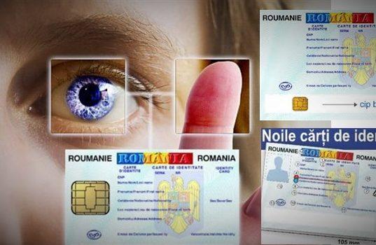 Carte de identitate biometrica