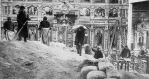 Biserica rusa transformata in siloz